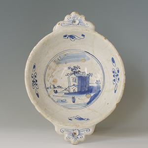 A 17th century Netherlands porridge dish