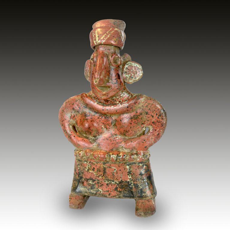A Nayarit female figure
