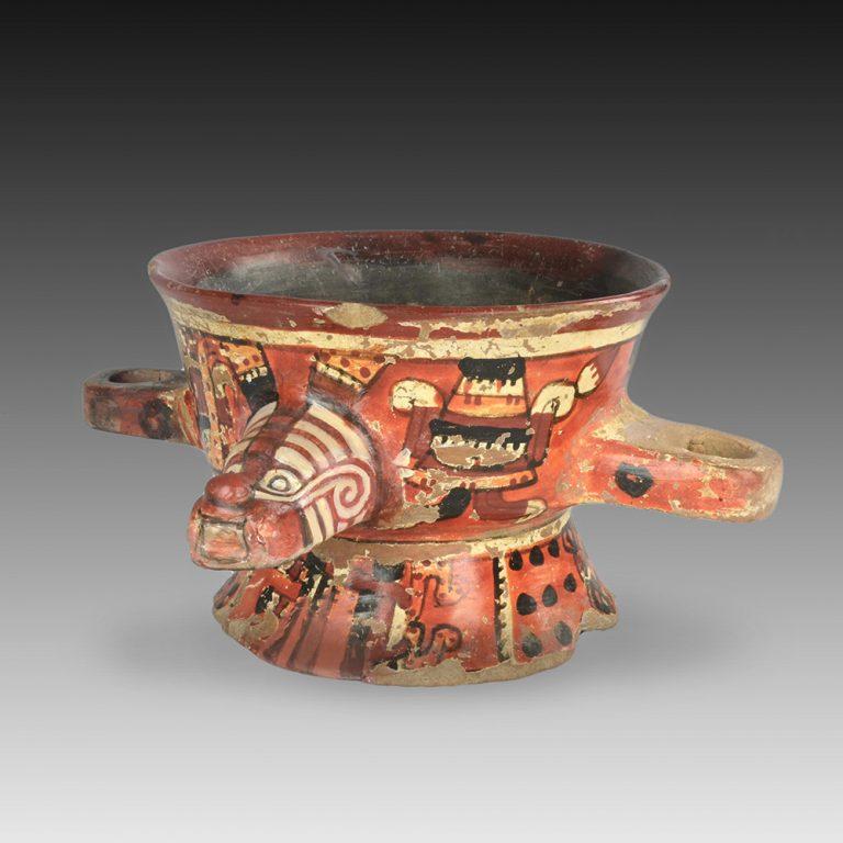 A Mixtec incense burner