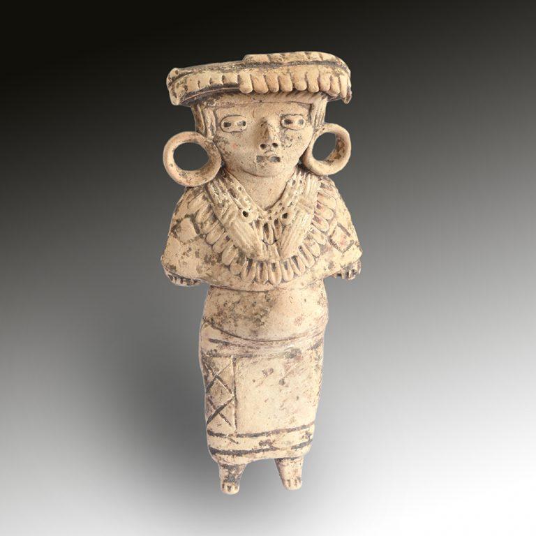 A Michoacan female figure