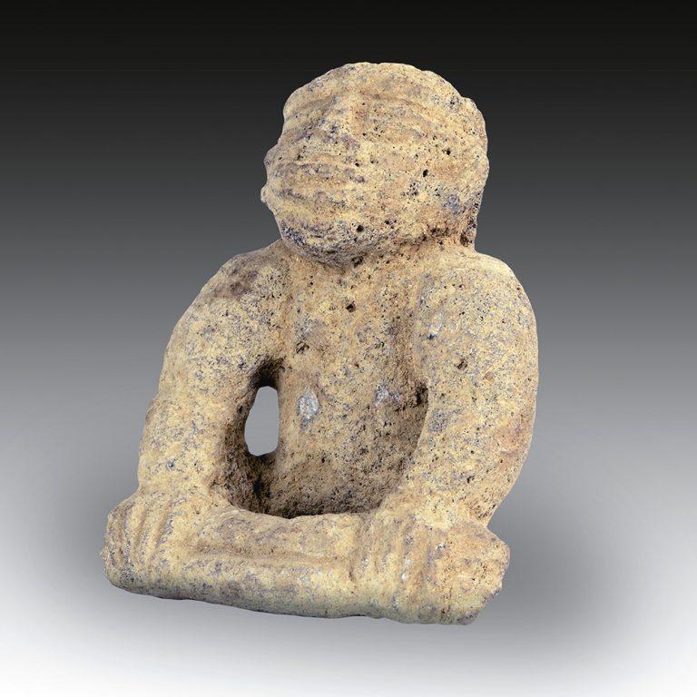 A Costa Rica stone figure