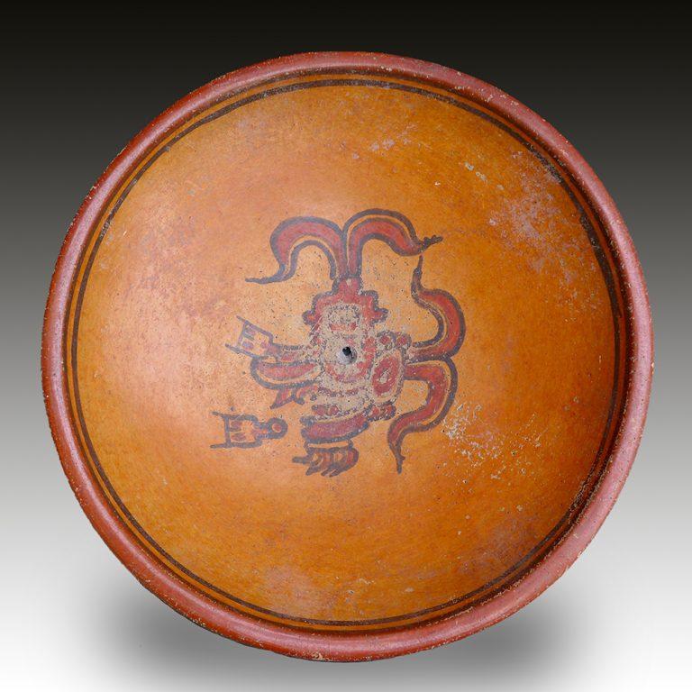 A Maya ceremonial dish