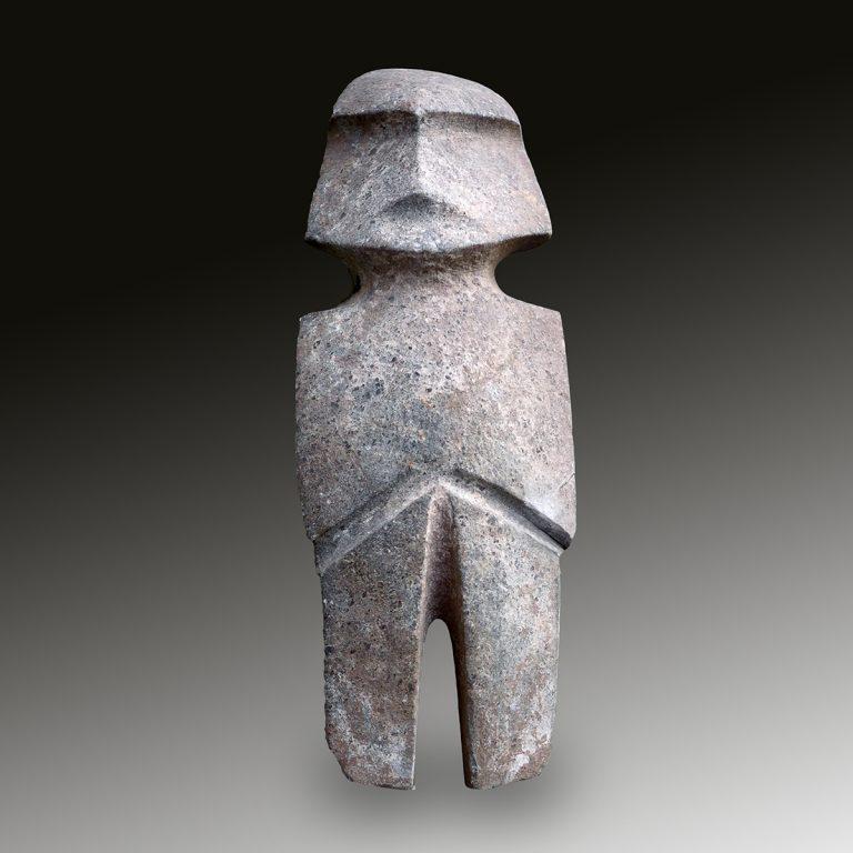 A Mezcala stone figure