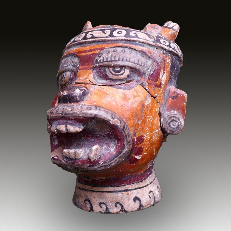 A Mixtec ceremonial vessel