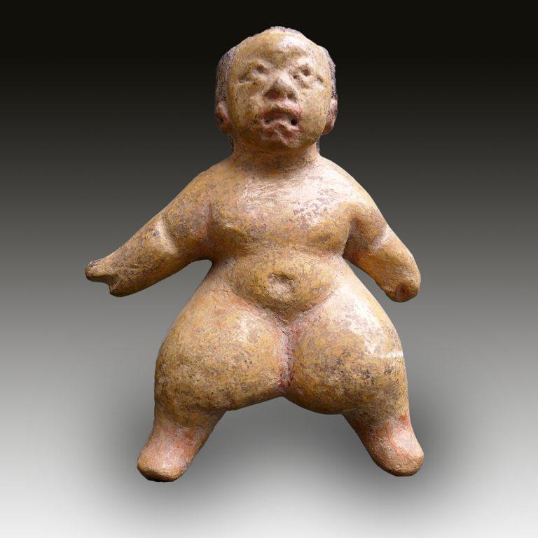 An Olmec fat figure