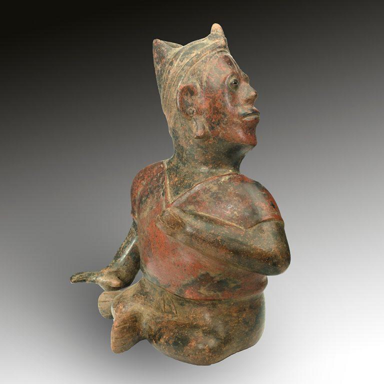 A fine Colima figure